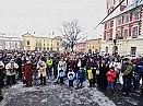 Koledy na náměstí o Štědrý den 2010