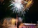 Novoroční ohňostroj k přivítání roku 2011