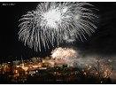Novoroční ohňostroj k přivítání roku 2012