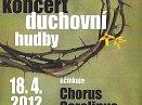 Velikonoční koncert duchovní hudby