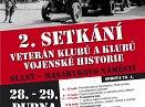 2. setkání veterán klubů a klubů vojenské historie
