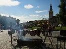 Rožnění uherského (martinického) býka 2013