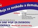 Státní vátek Den boje za svobodu a demokracii