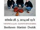 Trio Martinů zahraje ve Slaném