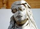 Obnova sochy ze slánského kláštera