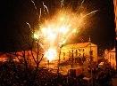 Novoroční ohňostroj – fotografie