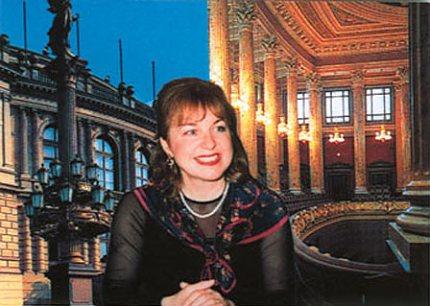 Klavíristka Christiane Engel