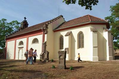 Slaný-Ovčáry, kostel sv.Václava