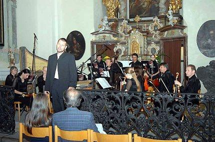Vojtěch Spurný uvádí koncert z děl lounských skladatelů