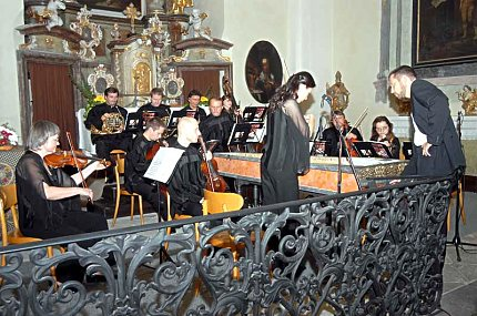 Česká komorní filharmonie ladí