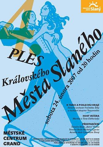 Ples města Slaného-4-pozvánka