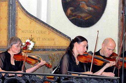 Česká komorní filharmonie – první housle
