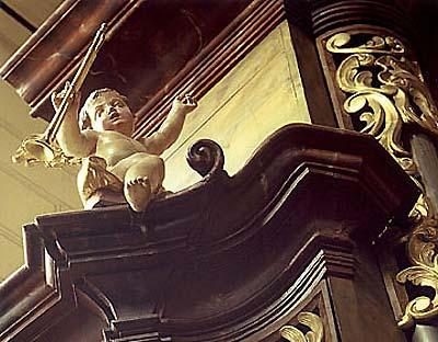 Varhany v chrámu sv.Gotharda