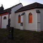 Kostelík sv. Václava v Ovčárech