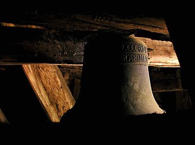 Zvon v chrámu sv.Gotharda ve Slaném