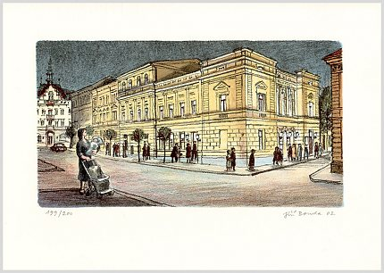 Jiří Bouda — Slánské divadlo (2002)