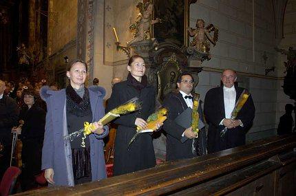 Britta Stallmeister, Markéta Cukrová, Michael Nowak a Jan Verner