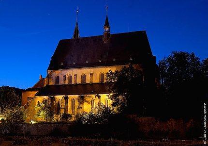 Kostel sv.Gotharda ve Slaném (foto: Jiří Jaroch)