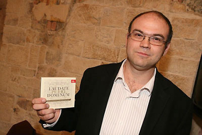 Robert Hugo s CD Laudate Pueri Dominum (foto: www.supraphon.cz)