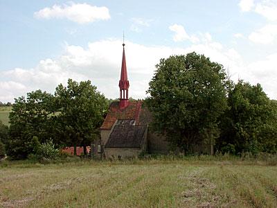 Kostel sv.Jakuba v Lidicích u Slaného (foto: Ivo Horňák)