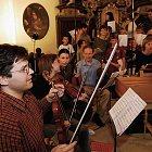 Nahrávání CD Laudate pueri Dominum (foto: Jiří Jaroch)