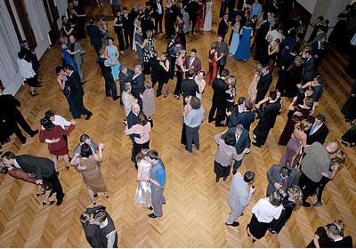 Ples Královského města Slaného v roce 2004 (Foto: J.Jaroch)