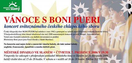 Pozvánka na Boni Pueri ve Slaném 2006