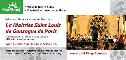 La Maîtrise St. Louis de Gonzague - pozvánka (repro: Ivo Horňák)