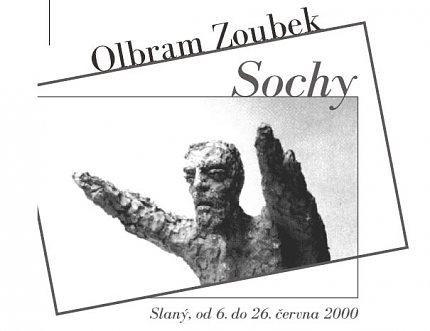 Pozvánka na výstavu Olbrama Zoubka (repro: Jan Renner)