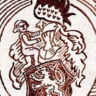Různé podoby slánského znaku: Jungman (1930)