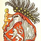 Různé podoby slánského znaku: K. Liška (1976)
