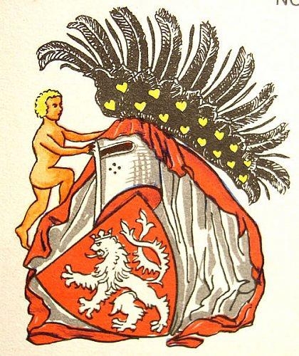 Různé podoby slánského znaku: K.Liška (1976)