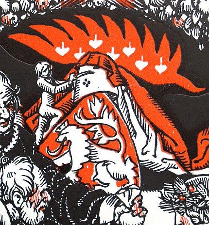 Různé podoby slánského znaku: A.Wenig (1923)