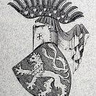 Různé podoby slánského znaku: V. Král (1893)