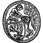 Různé podoby slánského znaku: Z. Mézl (1995)