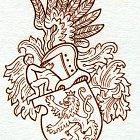 Různé podoby slánského znaku: J. Herčík (1995)