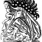 Různé podoby slánského znaku: M. Aleš (1897)