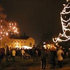 Slavnost světla ve Slaném (foto: Jiří Jaroch)