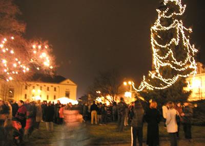 Slavnost světla 2006 a V.vánoční náladové trhy (foto: Jiří Jaroch)