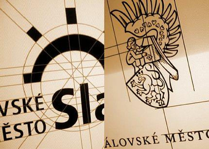 Z plakátu Město Slaný a jeho vizuální styl