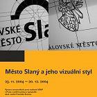 Plakát Město Slaný a jeho vizuální styl (Tomáš Brousil, 2004)