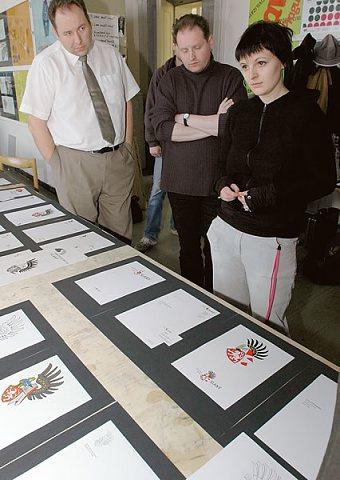 Prezentace na Vysoké škole umělecko-průmyslové