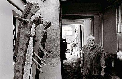 V ateliéru Olbrama Zoubka (Foto: Jiří Jaroch)