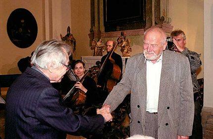 Olbram Zoubek a Antonín Leopold
