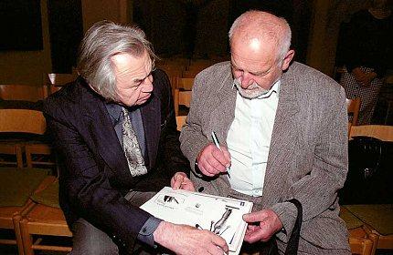 Olbram Zoubek a Antonín Leopold (foto J.Jaroch)