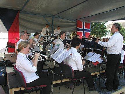 Norský dechový orchestr Husnes Musikklag