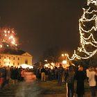 Slavnost světla na Masarykově náměstí
