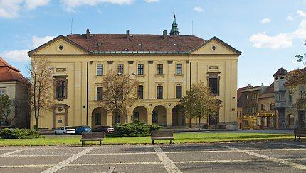 Bývalá piaristická kolej ve Slaném