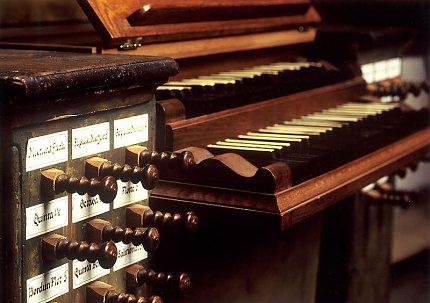 Varhany v kostele sv.Gotharda