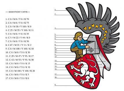 Z manuálu městského heraldického znaku